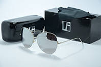 Солнцезащитные очки Linda Farrow капли зеркальные