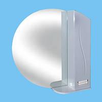 Зеркало для ванной З-20 круглое Фрезеровка №1 (без света)