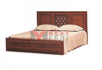 Кровать 1600 (с ламелями / без матраса) системы Ливорно