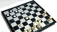 Нарды 3 в 1 на магнитной доске 30х30 см (нарды+шашки+шахматы)NS-2022