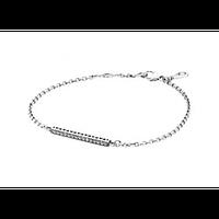 Серебряный браслет Pandora с цирконием