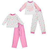 Пижама для девочки 6-7 лет  Miss Fiori  2 шт в комплекте