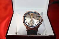 Мужские часы Ulysse Nardin Gold (Улис Нардин кварцевые)