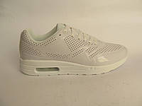 Кроссовки женские Nike Air Max белые, лаковые (найк аир макс)р.39,41