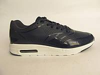 Кроссовки женские Nike Air Max синие, лаковые (найк аир макс)р.38,39