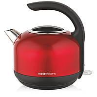 Металлический чайник ves electric H-100-R