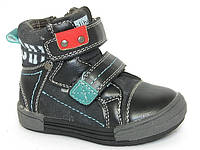Ботинки детские Clibee TS-P-22 черный (Размеры: 20-25)