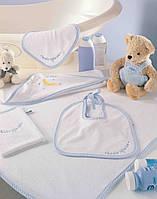 Детский набор для ванной TAC Baby towel sets twinkle голубой