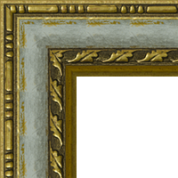Багетная рама под заказ 975-A39101 (ширина профиля 44 мм). Для икон, картин, зеркал, фотографий