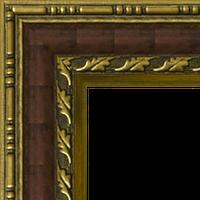 Багетная рама под заказ 975-A39104 (ширина профиля 44 мм). Для икон, картин, зеркал, фотографий