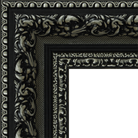 Багетная рама под заказ 1034-BK (ширина профиля 57 мм). Для икон, картин, зеркал, фотографий