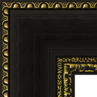 Багетная рама под заказ 1035-70 (ширина профиля 57 мм). Для икон, картин, зеркал, фотографий