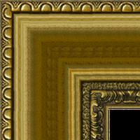 Багетная рама под заказ 1035-gldr1 (ширина профиля 57 мм). Для икон, картин, зеркал, фотографий