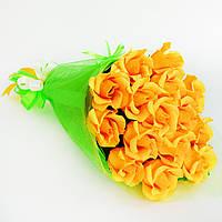 Букет из конфет Оранжевые розы