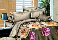 Полуторный набор постельный (рисунок Розы большие)