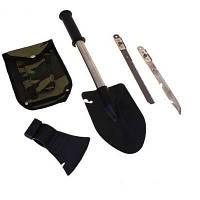 Набор многофункциональный в чехле ( лопата, топор, нож, пила)