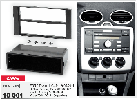 2/1-DIN переходная рамка FORD Focus II,C-Max 2005-2011; S-Max, Fusion, Transit 2006-2011; Fiesta, CARAV 10-001