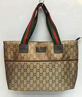Сумка женская Gucci 1392 тканевая классическая