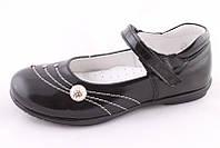 Туфли детские школьные берегиня для девочки черные 0601 р. 29, 30