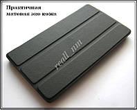 Черный кожаный чехол-книжка TF Case для планшета Lenovo Tab 2 A7-20 / A7-20F