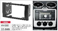 2-DIN переходная рамка FORD Focus II,C-Max 2005-2011; S-Max, Fusion, Transit 2006-2011; Fiesta, CARAV 11-046
