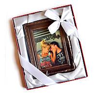 Оригинальный подарок для женщины на 8 марта. Портрет из шоколада из вашим фото