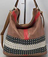 Модная женская сумка Velina Fabbiano Натуральная кожа  50%