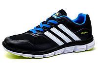 Кроссовки мужские Adidas Adizero, черные, фото 1