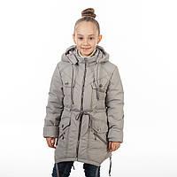 Пальто-парка весенняя для девочки