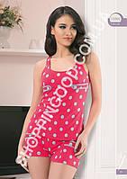 Пижама женская  Angel Story 15090, костюм для дома майка и шорты