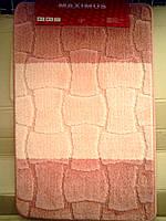 Коврики для ванной и туалета розовый производство Турция