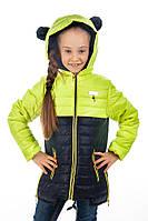 Демисезонная куртка для девочки  Мишутка