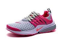 Кроссовки женские/подросток Nike Presto 2015, серо-розовые, р. 36 38 39 40