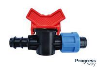 Кран редукционный для Drip Line трубы КСР 16*17 (SL-011-6)
