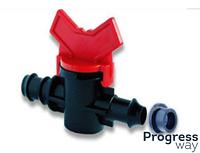 Кран с уплотнительной резинкой для Drip Line трубы КС16*8R (SL-011-3)