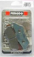 FDB2039P Тормозные колодки Ferodo для мотоцикла  BMW   94x37x8,6mm 94x37x10,1mm