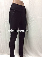 Стильные брюки-лосины из натуральной ткани