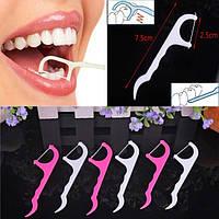 Зубная нить и зубочистка (25 шт.)