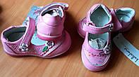 Кожаные туфельки для девочки.