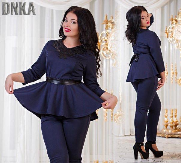 Женский костюм 54 размера