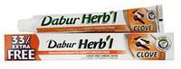 Зубная паста Dabur Гвоздика,  Dabur Herb'l Clove Natural Toothpaste, 75+25 гр