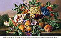 """Схема для вышивки бисером """"Натюрморт с персиками"""""""