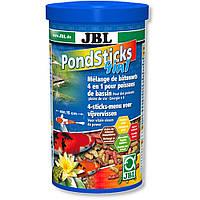 Понд стикс 4в1 JBL (POND Sticks 4 in1) корм для прудовых рыб, 1л