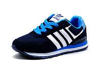 Кроссовки детские Adidas, синие, фото 1