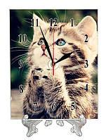 """Часы настольные """"Котенок"""""""