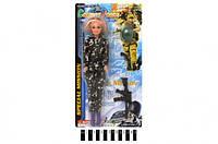 Кукла в военной форме с автоматом 111В