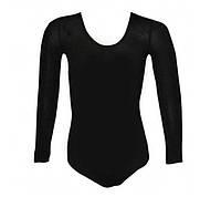 Купальники для художественной гимнастики. М (30-32), рост:98-104см. Цвет:черный.