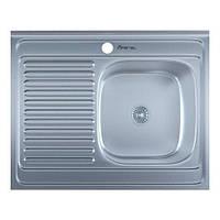 Мойка кухонная 0,6мм нержавейка с комплектом Imperial-5080-L/R накладная