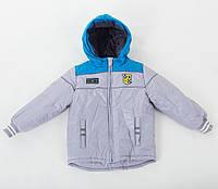 Детская осенняя теплая куртка аналог Benetton , Бенеттон от отечественного производителя