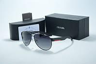 Солнцезащитные очки Prada мужские черные капли